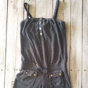 Juicy Couture Spaghetti Strap Romper Jumpsuit S sm